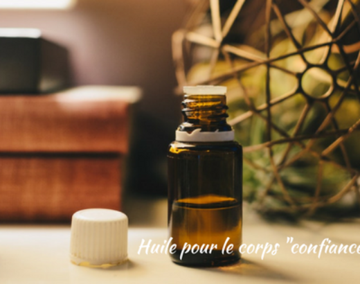 "Self-confidence massage oil (Huile de massage ""confiance en soi"")"