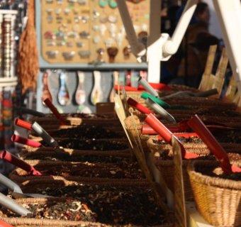 Gommage à la poudre d'Orange «Escale en Andalousie